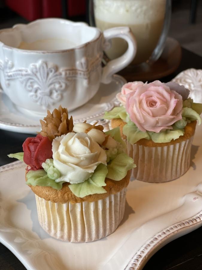 cafe&sweets Sweet Lulu あんフラワーケーキ