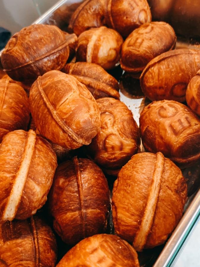 SHARE TORAN?FUKUOKA 洒落と卵 クロワッサン