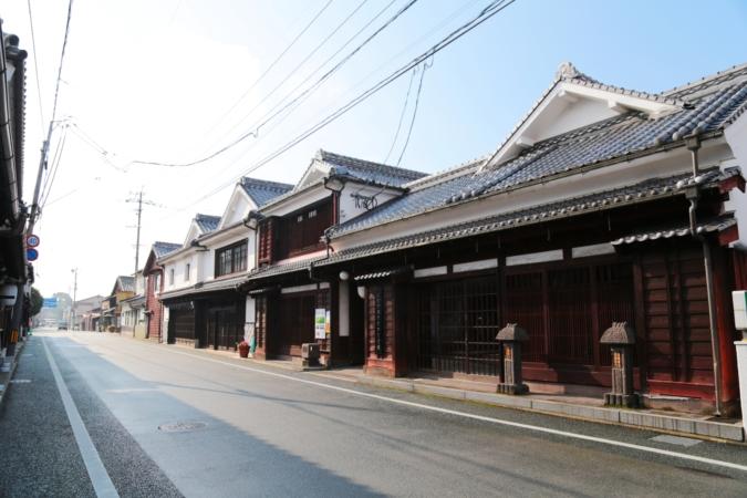 八女福島 寄り道すたんぷらりぃ 白壁の町並み
