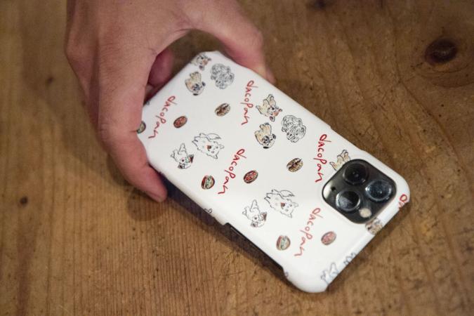 アマムダコタン 犬グッズ 携帯ケース