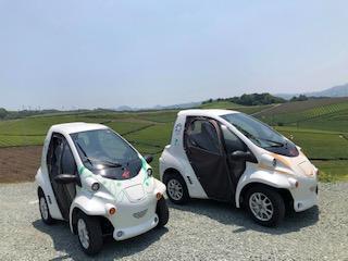 八女福島 寄り道すたんぷらりぃ 電気自動車