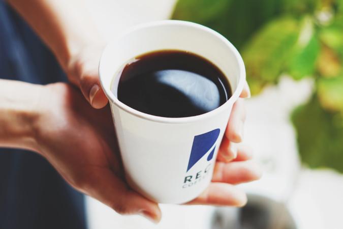 REC COFFEE 天神北 TOGO SHOP コーヒー
