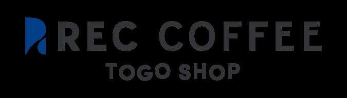 REC COFFEE 天神北 TOGO SHOP ロゴ
