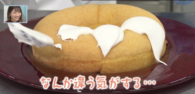 バリはやッ!ZIP! YU'Sキッチン 簡単クリスマスケーキ