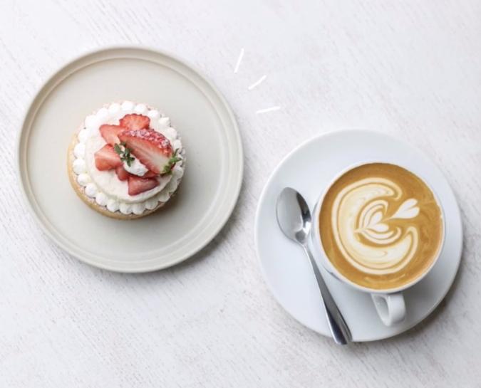 THE LOCAL COFFEE STAND FUKUOKA(ザ ローカル コーヒー スタンド 福岡) 苺のチーズムースタルト
