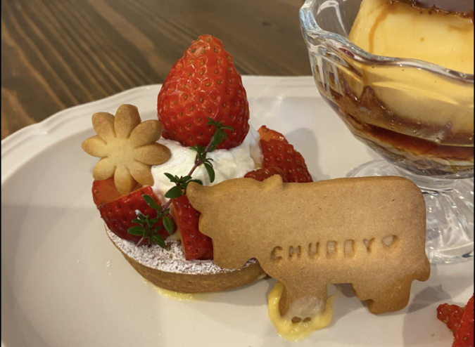 Chubby coffee and sweets おやつプレート