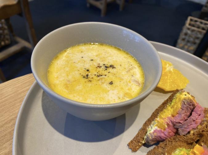 THE SANDWICH STAND(ザ・サンドイッチスタンド) ランチ スープ