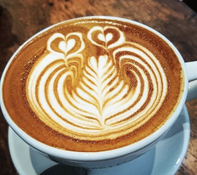 Connect Coffee(コネクトコーヒー) ハートバージョン ラテアート