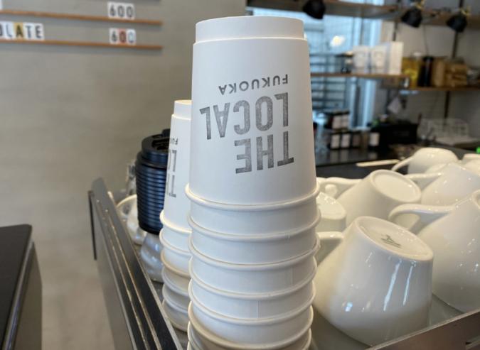 THE LOCAL COFFEE STAND FUKUOKA(ザ ローカル コーヒー スタンド 福岡) テイクアウトカップ