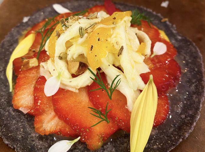 tacosco(タコスコ) オアハカチーズと苺