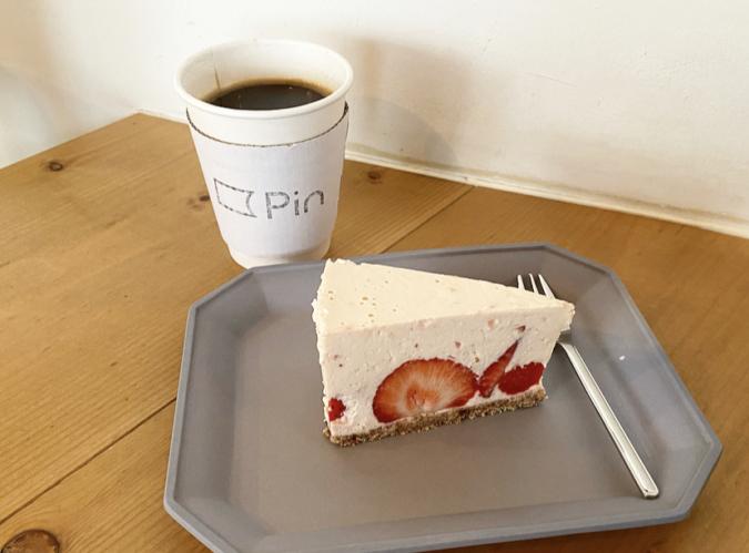 Pin(ピン) あまおうのレアチーズケーキ