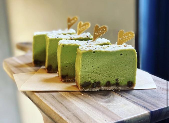 KAKA cheese cake store(カカ チーズケーキストア)ピスタチオチーズケーキ