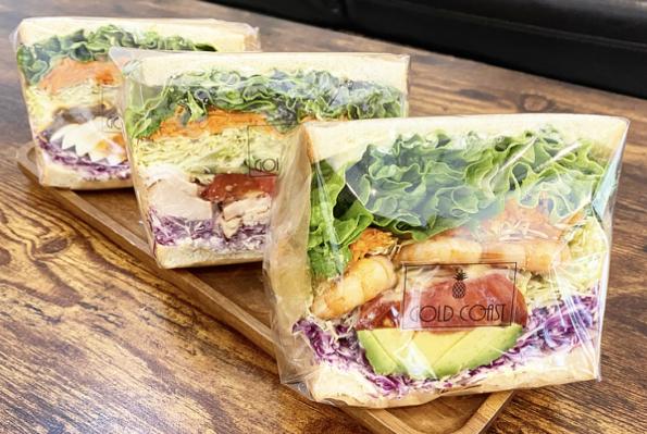 GOLD COAST Cafe + Dining 食事系サンドイッチ