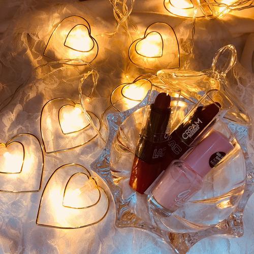 サンキューマート LEDライト ハート型ライト
