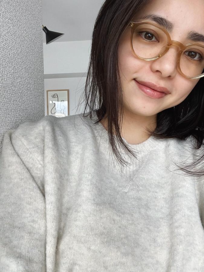 クリアフレーム メガネ