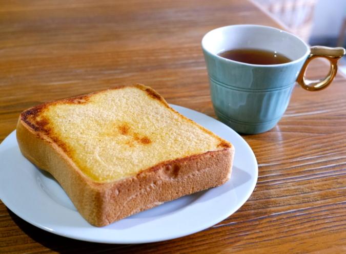 博多明太トースト 朝ごはんに