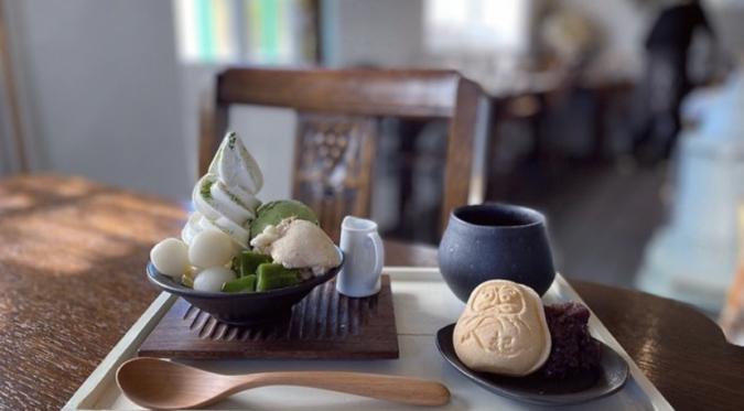 ALES cafe(アレスカフェ) 抹茶パフェ