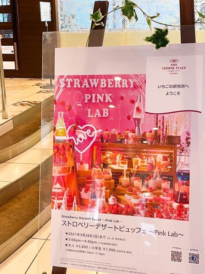 ANAクラウンプラザホテル福岡「いちごの研究所 Pink Lab」 エントリー