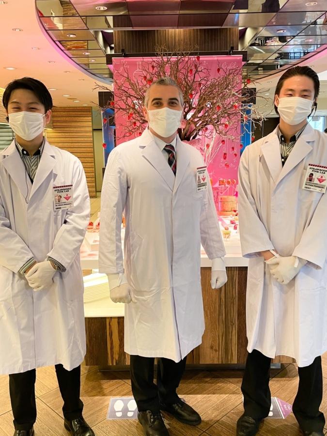 ANAクラウンプラザホテル福岡「いちごの研究所 Pink Lab」 スタッフ