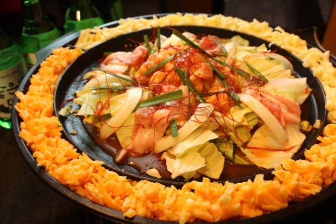 Mr.チージュ コプチャン鍋
