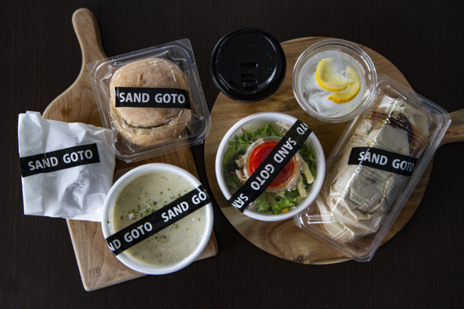 『SAND GOTO(サンドゴトウ)』 GOTO set
