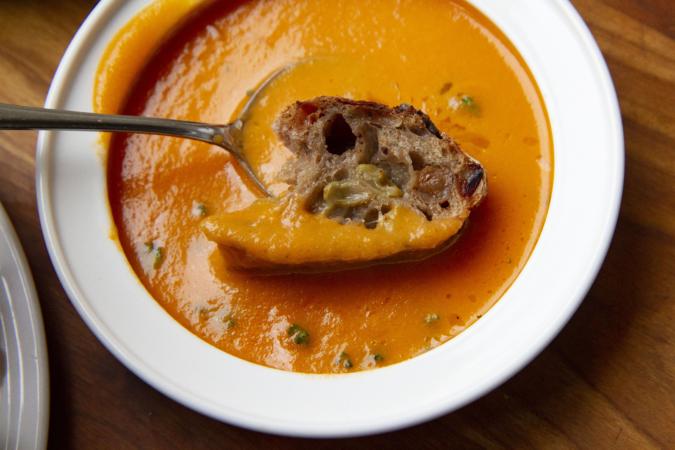 ベーカリー&コーヒーストア『ストック』 スープ