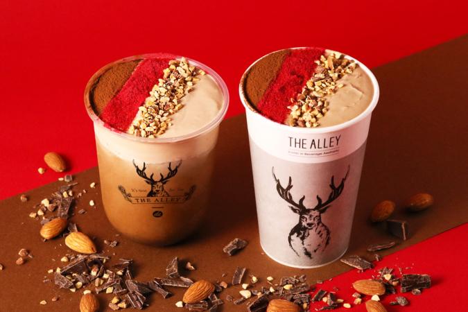 THE ALLEYの「ショコラキャラメルミルクティー」