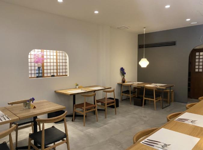 KANOYA teasalon&shokudou 店内