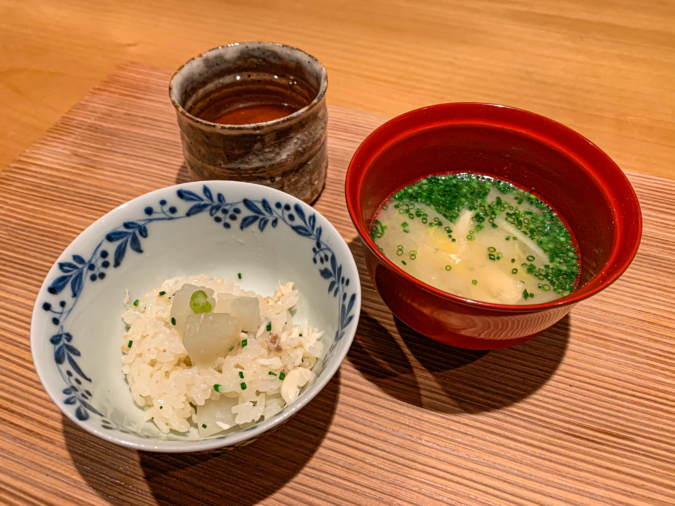 土鍋ご飯(1杯目)