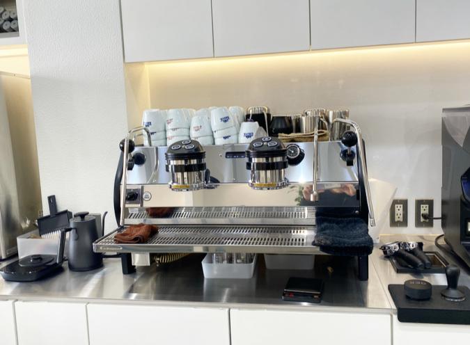 cafe KIKUYA(カフェ キクヤ) マシン