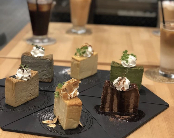 cosaell coffee and cheesecake テイクアウト