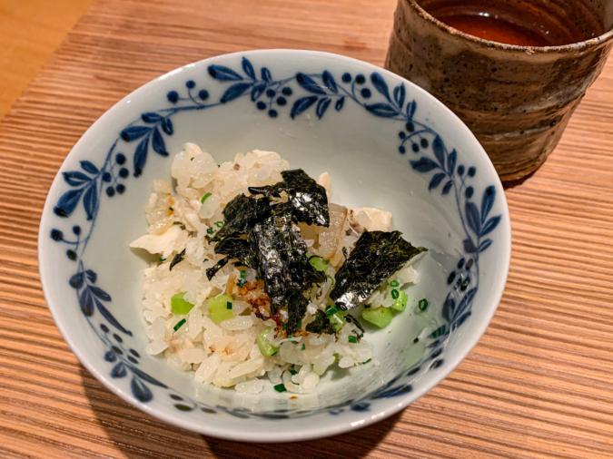 土鍋ご飯(2杯目)