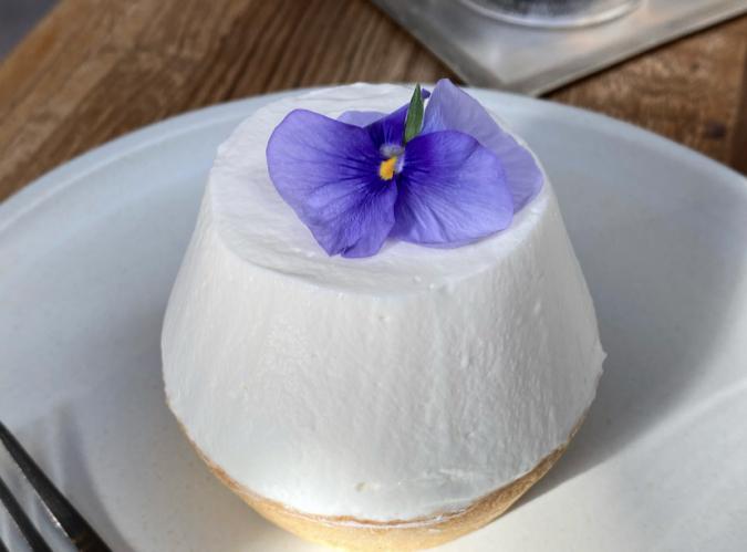 ストロベリーレアチーズタルト オルトカフェ