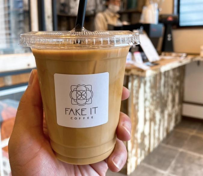 FAKE IT COFFEE(フェイクイットコーヒー) アイスラテ