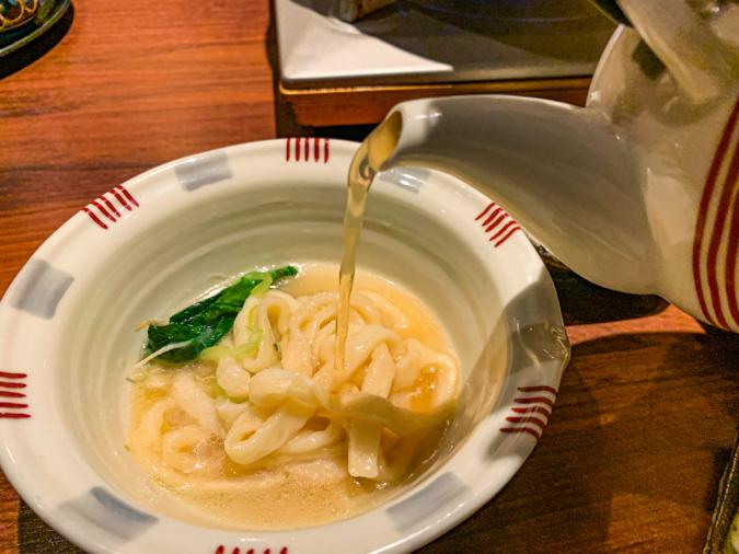 揚げうどん(ポン酢)