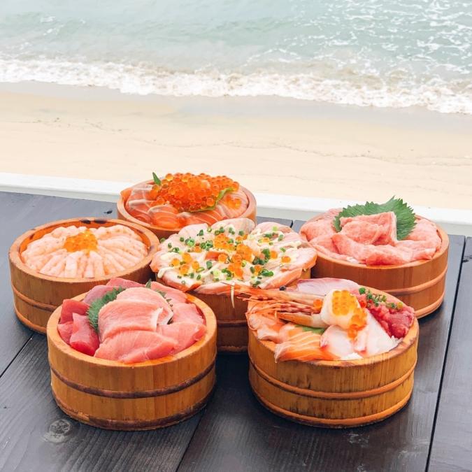 糸島食堂 海鮮丼と海