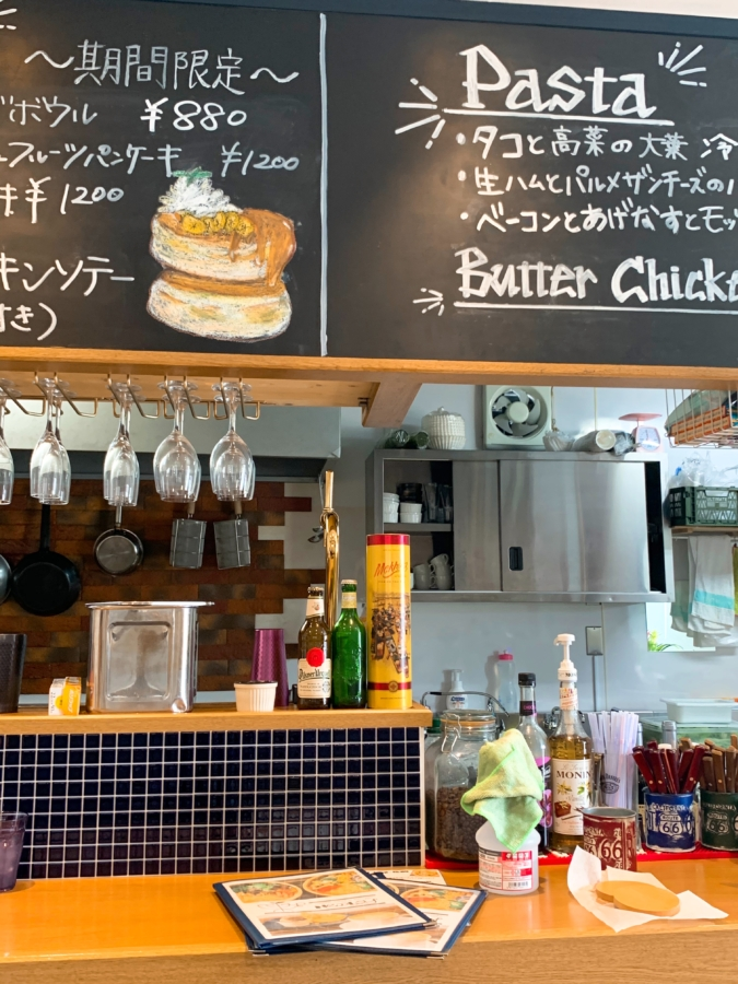 CAFE New Ley(カフェ・ニューリー) 黒板