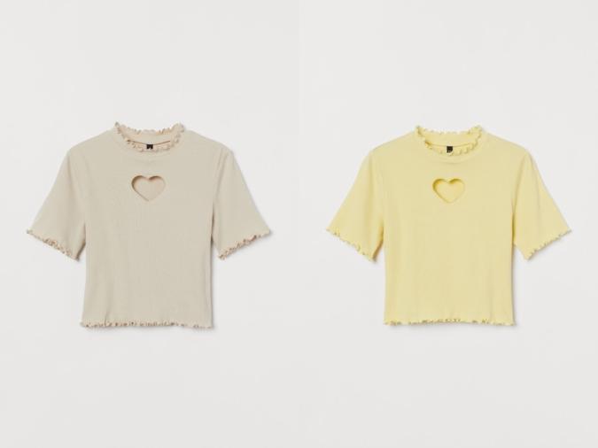 H&M×NiziU Tシャツ