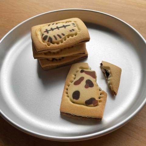 今日のねこもよう ショコラサンドクッキー