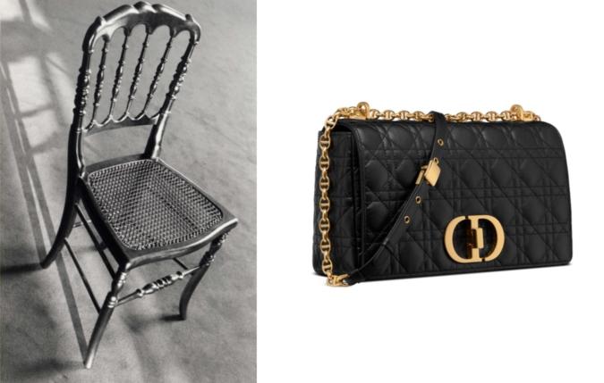 『ディオール カロ』 椅子
