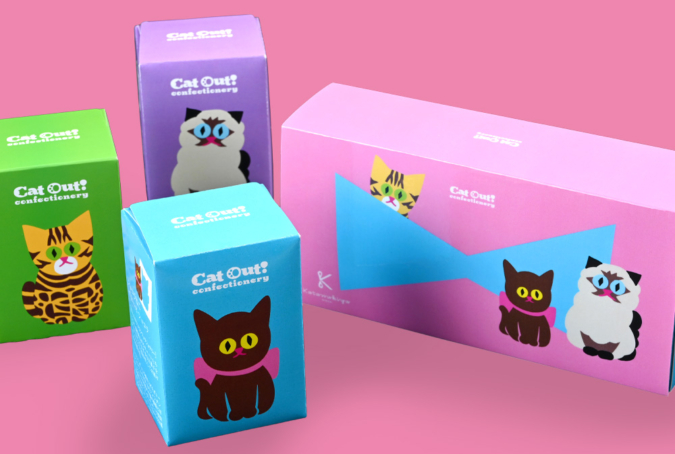 カタヌキヤ Cat Out! Confectioneryシリーズ