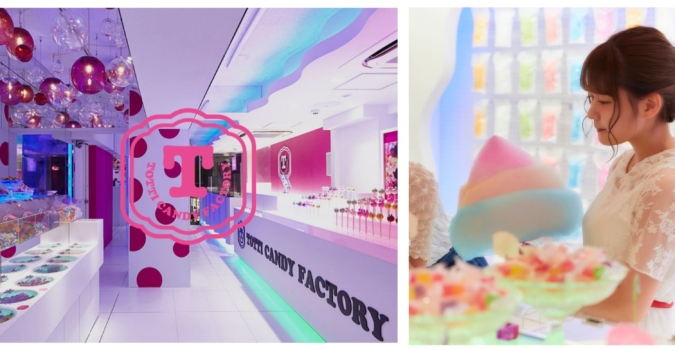 TOTTI CANDY FACTORY 店内