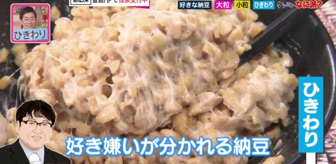 ひきわり納豆を芸能人で例えると