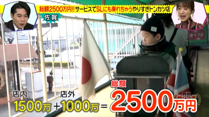 九州やりすぎ大賞 2500万円