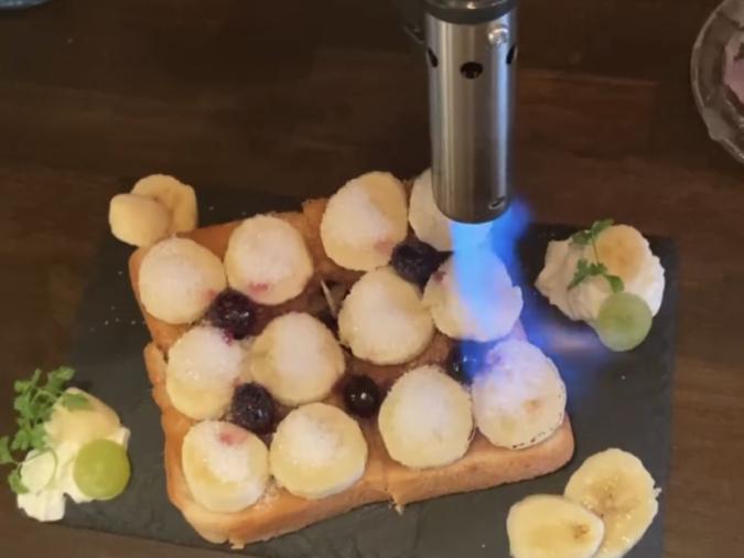 焦がしキャラメルバタートースト
