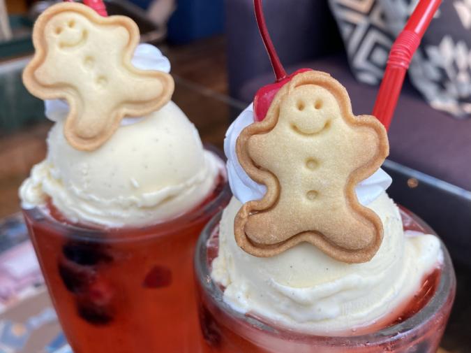 kawara CAFE&DINING FORWARD福岡パルコ ラズベリーソーダ クッキー