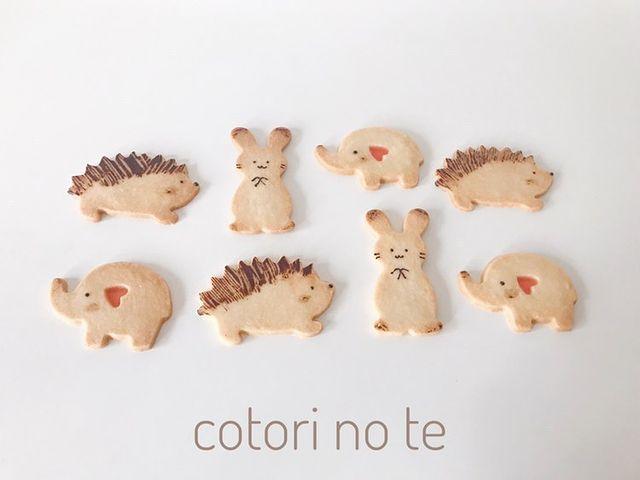 菓子工房cotori no te(コトリノテ) クッキー缶