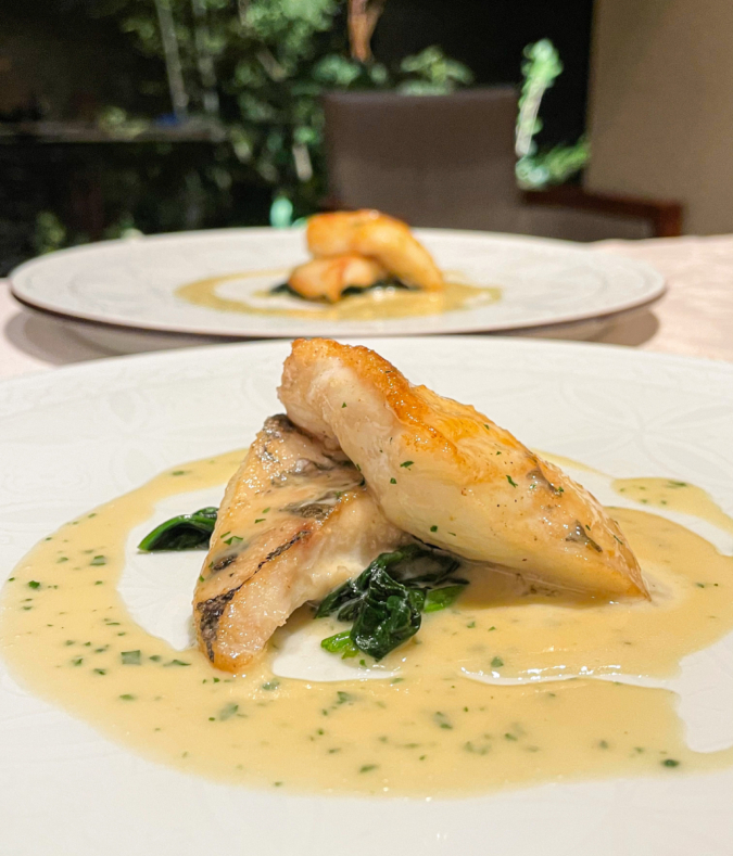 ラ・カスカドゥ 魚料理