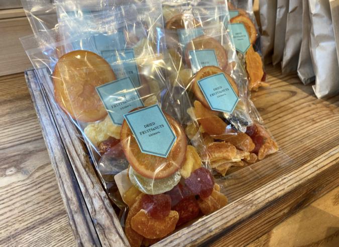 DRIED FRUITS&NUTS ichimaruのドライフルーツの詰め合わせ