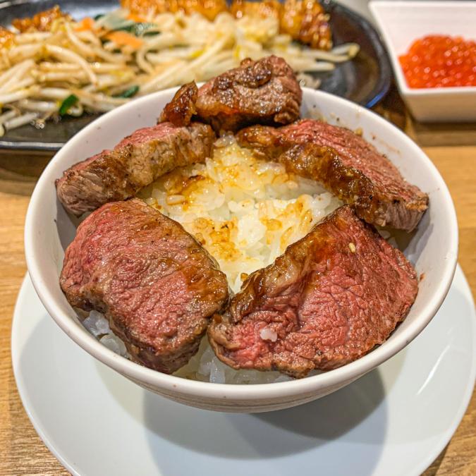 にくら丼の作り方(1)